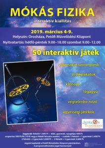 Mókás fizika interaktív kiállítás @ Petőfi Művelődési Központ