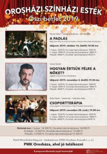 Orosházi Színházi Esték @ Petőfi Művelődési Központ színházterem