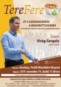 TereFere - Virág Gergely előadása @ Petőfi Művelődési Központ