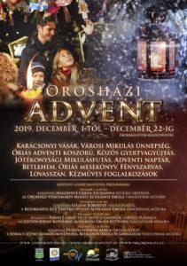 Orosházi Advent 2019 @ Orosháza, Főtér