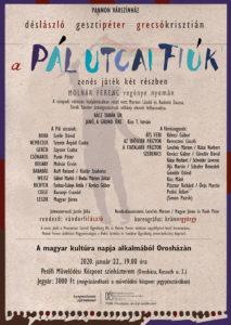 A Pál utcai fiúk a Pannon Várszínház előadásában @ Petőfi Művelődési Központ színházterem