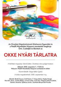 OKKE nyári tárlat @ Petőfi Művelődési Központ