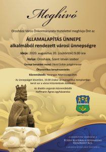 Augusztus 20. városi ünnepség és díjátadó @ Szent István szobor