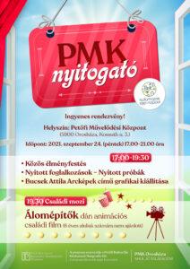 PMK nyitogató szeptemberben @ Petőfi Művelődési Központ