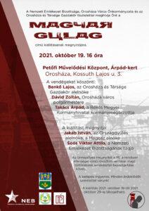 Magyar Gulag kiállítás @ Orosháza, Árpád-kert